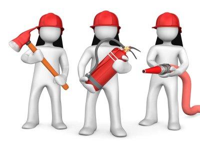 Brandschutzhelfer mit SFS