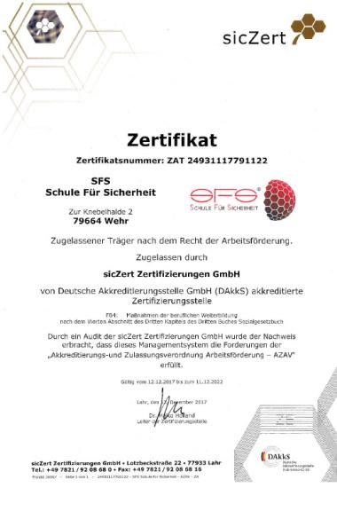 AZAV Qualitätsmanagement